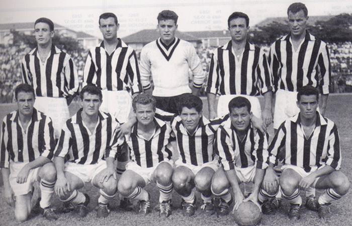 effectif juventus saison 1957 1958
