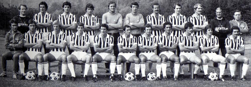 juventus : effectif de la saison 1976-1977