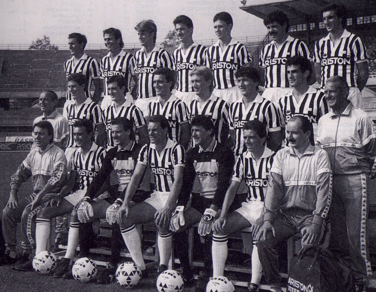 juventus : effectif de la saison 1987-1988